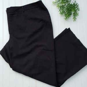 Lane Bryant Black Classic Dress Pant sz 26